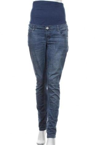 Дънки за бременни Supermom, Размер XL, Цвят Син, 95% памук, 5% еластан, Цена 29,68лв.