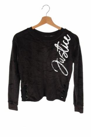 Детска блуза, Размер 11-12y/ 152-158 см, Цвят Черен, 94% полиестер, 6% еластан, Цена 17,85лв.