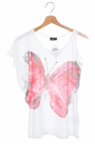 Παιδική μπλούζα Crash One, Μέγεθος 12-13y/ 158-164 εκ., Χρώμα Λευκό, 63% πολυεστέρας, 33% βισκόζη, 4% ελαστάνη, Τιμή 4,68€