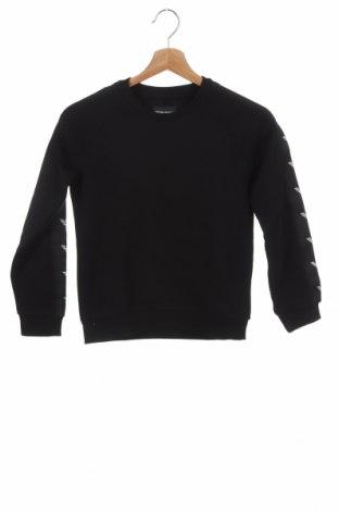 Детска блуза Emporio Armani, Размер 9-10y/ 140-146 см, Цвят Черен, 98% памук, 2% еластан, Цена 86,87лв.