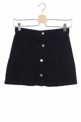 Παιδική φούστα H&M, Μέγεθος 11-12y/ 152-158 εκ., Χρώμα Μπλέ, Βαμβάκι, Τιμή 9,74€