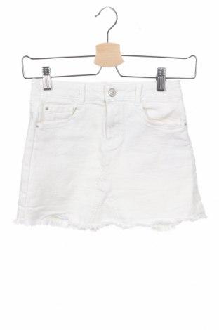 Παιδική φούστα Zara Kids, Μέγεθος 8-9y/ 134-140 εκ., Χρώμα Λευκό, 98% βαμβάκι, 2% ελαστάνη, Τιμή 12,47€
