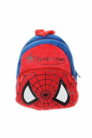 Детска раница Spiderman, Цвят Червен, Текстил, Цена 19,64лв.
