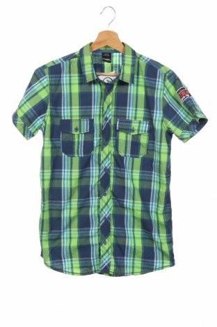 Детска риза Chapter, Размер 15-18y/ 170-176 см, Цвят Многоцветен, 65% полиестер, 35% памук, Цена 13,97лв.
