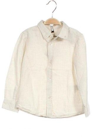 Παιδικό πουκάμισο Gocco, Μέγεθος 3-4y/ 104-110 εκ., Χρώμα  Μπέζ, Βαμβάκι, Τιμή 7,48€