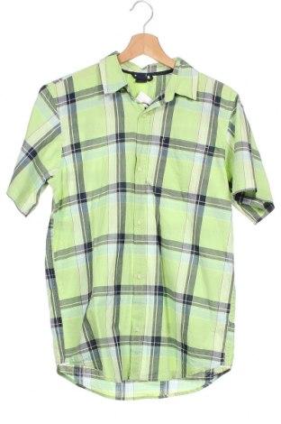 Детска риза Gap Kids, Размер 14-15y/ 168-170 см, Цвят Зелен, Памук, Цена 11,03лв.