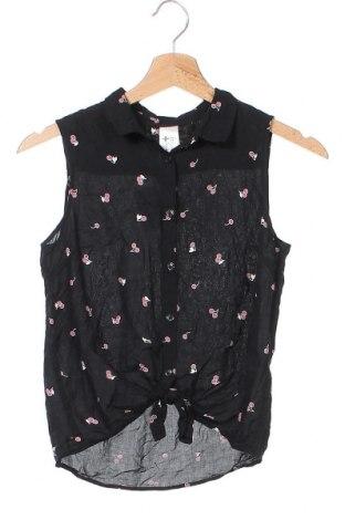 Παιδικό πουκάμισο Here+There, Μέγεθος 12-13y/ 158-164 εκ., Χρώμα Μαύρο, Βισκόζη, Τιμή 11,04€