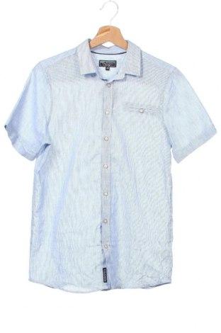 Παιδικό πουκάμισο Here+There, Μέγεθος 14-15y/ 168-170 εκ., Χρώμα Μπλέ, Βαμβάκι, Τιμή 9,09€