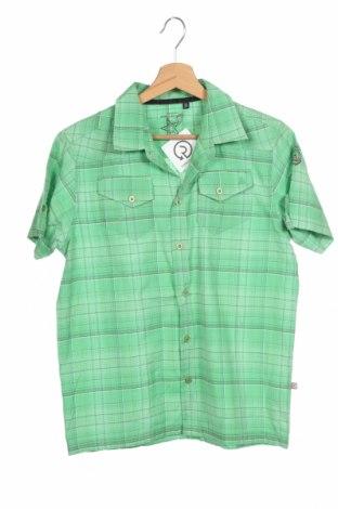 Παιδικό πουκάμισο Icepeak, Μέγεθος 12-13y/ 158-164 εκ., Χρώμα Πράσινο, 50% βαμβάκι, 50% πολυεστέρας, Τιμή 3,64€