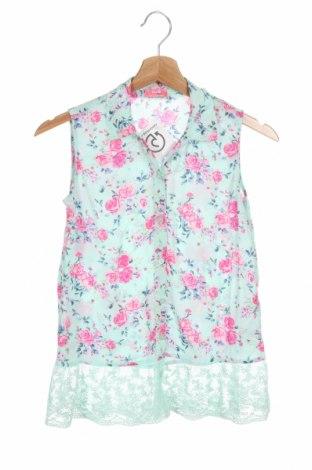 Детска риза LC Waikiki, Размер 9-10y/ 140-146 см, Цвят Зелен, Вискоза, Цена 11,76лв.