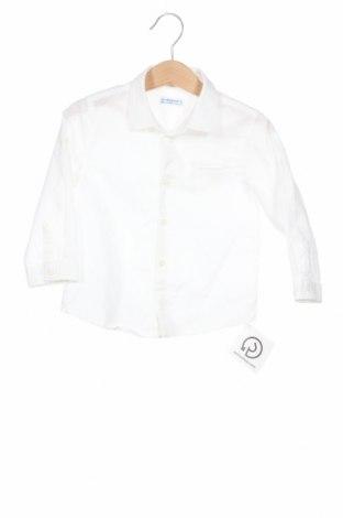 Παιδικό πουκάμισο Mayoral, Μέγεθος 12-18m/ 80-86 εκ., Χρώμα Λευκό, Τιμή 12,99€