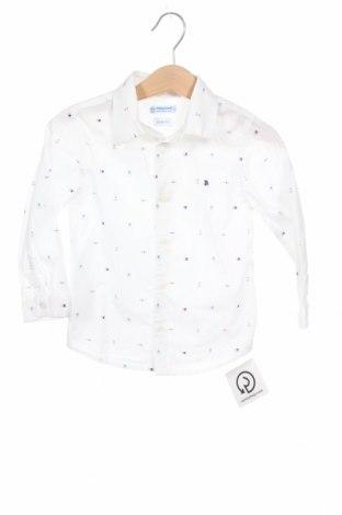 Παιδικό πουκάμισο Mayoral, Μέγεθος 18-24m/ 86-98 εκ., Χρώμα Λευκό, Τιμή 12,99€