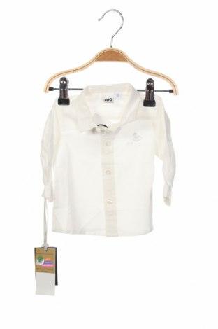 Παιδικό πουκάμισο iDo By Miniconf, Μέγεθος 2-3m/ 56-62 εκ., Χρώμα Λευκό, Βαμβάκι, Τιμή 8,66€