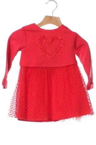 Παιδικό φόρεμα Agatha Ruiz De La Prada, Μέγεθος 12-18m/ 80-86 εκ., Χρώμα Κόκκινο, Βαμβάκι, πολυεστέρας, ελαστάνη, Τιμή 19,56€