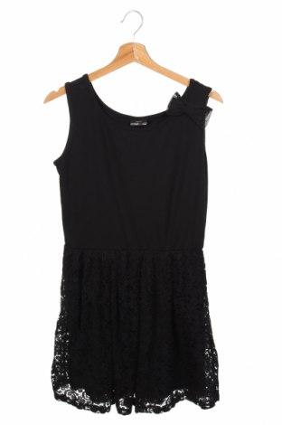 Παιδικό φόρεμα Crash One, Μέγεθος 15-18y/ 170-176 εκ., Χρώμα Μαύρο, 61% βισκόζη, 35% πολυεστέρας, 4% ελαστάνη, Τιμή 5,00€