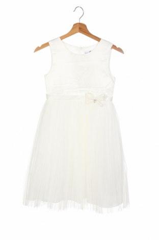 Παιδικό φόρεμα Happy Girls By Eisend, Μέγεθος 7-8y/ 128-134 εκ., Χρώμα Λευκό, Πολυεστέρας, Τιμή 19,56€