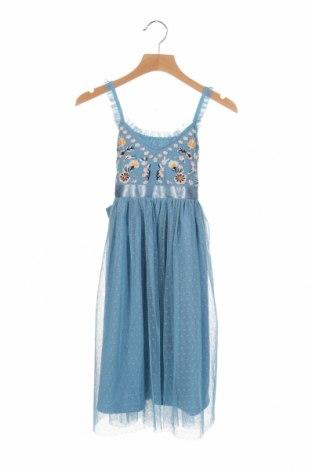 Παιδικό φόρεμα Happy Girls By Eisend, Μέγεθος 6-7y/ 122-128 εκ., Χρώμα Μπλέ, Πολυεστέρας, Τιμή 22,40€