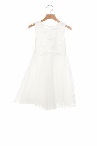 Παιδικό φόρεμα Happy Girls By Eisend, Μέγεθος 4-5y/ 110-116 εκ., Χρώμα Λευκό, Πολυεστέρας, Τιμή 19,56€