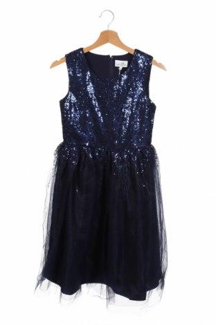 Παιδικό φόρεμα Happy Girls By Eisend, Μέγεθος 10-11y/ 146-152 εκ., Χρώμα Μπλέ, Πολυεστέρας, Τιμή 20,98€