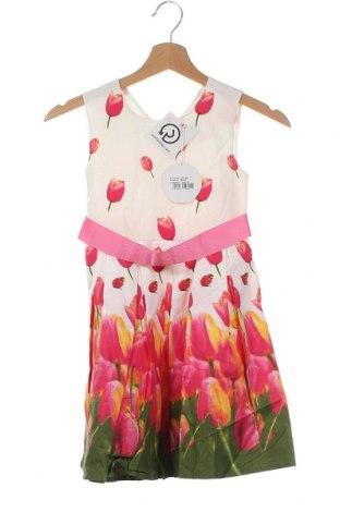 Παιδικό φόρεμα Happy Girls By Eisend, Μέγεθος 5-6y/ 116-122 εκ., Χρώμα Πολύχρωμο, Βαμβάκι, Τιμή 21,65€
