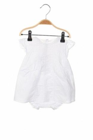 Παιδικό φόρεμα Neck & Neck, Μέγεθος 12-18m/ 80-86 εκ., Χρώμα Λευκό, Βαμβάκι, Τιμή 18,85€