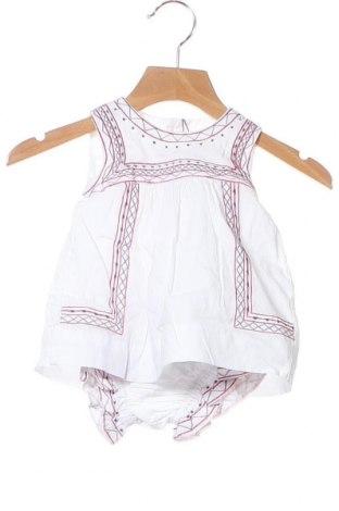 Παιδικό φόρεμα Neck & Neck, Μέγεθος 3-6m/ 62-68 εκ., Χρώμα Λευκό, Βαμβάκι, Τιμή 18,85€