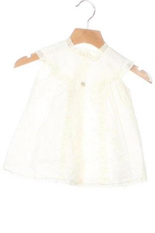 Παιδικό φόρεμα Pili Carrera, Μέγεθος 2-3m/ 56-62 εκ., Χρώμα Εκρού, Βαμβάκι, Τιμή 22,02€