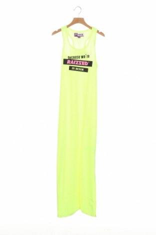 Παιδικό φόρεμα Raizzed, Μέγεθος 12-13y/ 158-164 εκ., Χρώμα Πράσινο, 65% πολυεστέρας, 35% βαμβάκι, Τιμή 7,24€