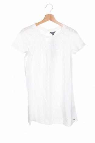 Детска рокля Tommy Hilfiger, Размер 13-14y/ 164-168 см, Цвят Бял, Памук, Цена 53,40лв.
