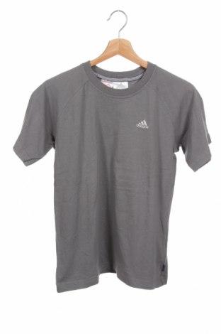 Детска тениска Adidas, Размер 13-14y/ 164-168 см, Цвят Сив, Памук, Цена 28,35лв.