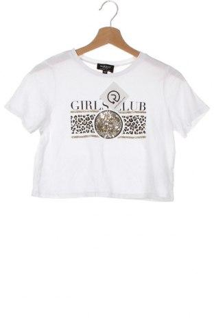 Παιδικό μπλουζάκι Bardot, Μέγεθος 11-12y/ 152-158 εκ., Χρώμα Λευκό, 50% βαμβάκι, 50% μοντάλ, Τιμή 9,35€