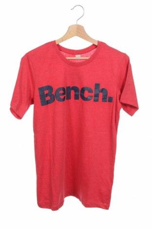 Детска тениска Bench, Размер 15-18y/ 170-176 см, Цвят Червен, 60% памук, 40% полиестер, Цена 16,80лв.