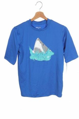 Παιδικό μπλουζάκι Cat & Jack, Μέγεθος 15-18y/ 170-176 εκ., Χρώμα Μπλέ, 90% πολυεστέρας, 10% ελαστάνη, Τιμή 7,02€