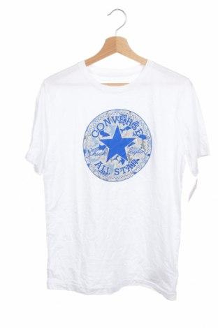 Детска тениска Converse, Размер 12-13y/ 158-164 см, Цвят Бял, Памук, Цена 33,60лв.