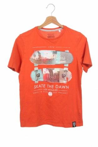 Παιδικό μπλουζάκι Here+There, Μέγεθος 12-13y/ 158-164 εκ., Χρώμα Πορτοκαλί, Βαμβάκι, Τιμή 8,44€
