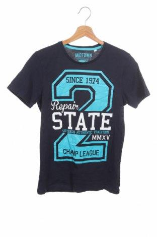 Παιδικό μπλουζάκι Here+There, Μέγεθος 12-13y/ 158-164 εκ., Χρώμα Μπλέ, Βαμβάκι, Τιμή 9,09€