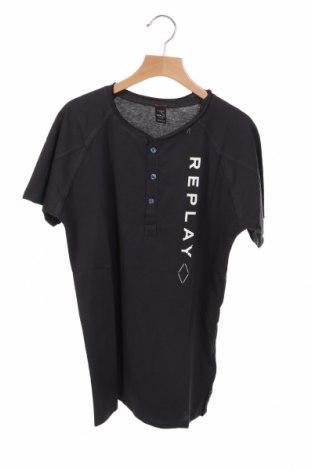 Παιδικό μπλουζάκι Replay, Μέγεθος 12-13y/ 158-164 εκ., Χρώμα Μπλέ, Βαμβάκι, Τιμή 24,90€
