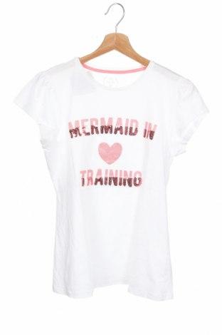 Παιδικό μπλουζάκι Tex, Μέγεθος 15-18y/ 170-176 εκ., Χρώμα Λευκό, 100% βαμβάκι, Τιμή 9,09€