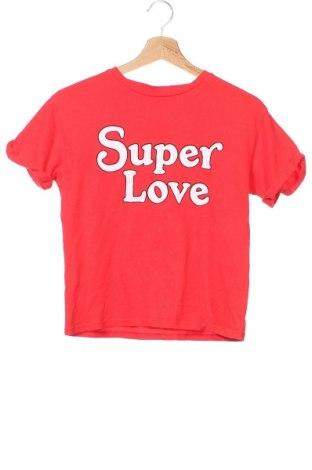 Παιδικό μπλουζάκι Zara Kids, Μέγεθος 9-10y/ 140-146 εκ., Χρώμα Κόκκινο, Βαμβάκι, Τιμή 11,11€