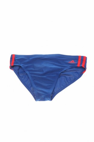 Детски бански Adidas, Размер 12-13y/ 158-164 см, Цвят Син, 73% полиамид, 27% еластан, Цена 20,67лв.