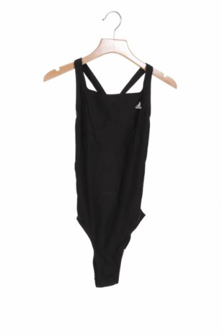 Детски бански Adidas, Размер 11-12y/ 152-158 см, Цвят Черен, 78% полиамид, 22% еластан, Цена 29,50лв.