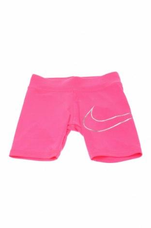 Детски бански Nike, Размер 4-5y/ 110-116 см, Цвят Розов, 88% полиестер, 12% еластан, Цена 20,67лв.