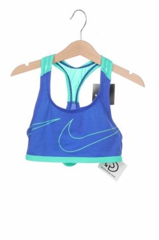 Μαγιό παιδικό Nike, Μέγεθος 8-9y/ 134-140 εκ., Χρώμα Μπλέ, 80% πολυαμίδη, 20% ελαστάνη, Τιμή 12,12€