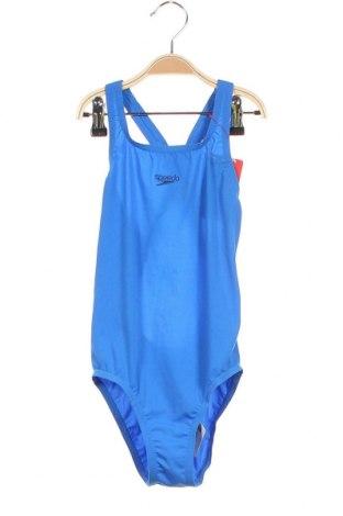 Детски бански Speedo, Размер 9-10y/ 140-146 см, Цвят Син, Полиестер, Цена 37,95лв.