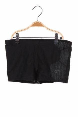 Детски бански Speedo, Размер 11-12y/ 152-158 см, Цвят Черен, 80% полиамид, 20% еластан, Цена 14,40лв.