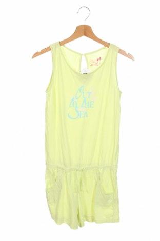 Детски гащеризон Alive, Размер 13-14y/ 164-168 см, Цвят Жълт, Памук, Цена 19,11лв.