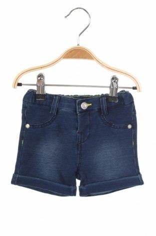Детски къс панталон Chicco, Размер 6-9m/ 68-74 см, Цвят Син, 78% памук, 16% полиестер, 6% еластан, Цена 12,60лв.