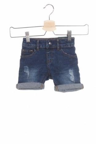 Детски къс панталон Firetrap, Размер 18-24m/ 86-98 см, Цвят Син, 99% памук, 1% еластан, Цена 29,25лв.