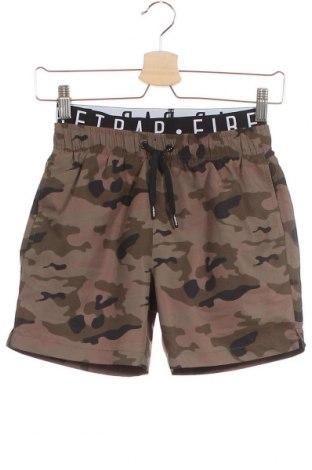 Детски къс панталон Firetrap, Размер 8-9y/ 134-140 см, Цвят Зелен, Цена 31,50лв.
