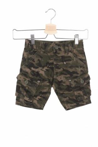 Детски къс панталон Firetrap, Размер 2-3y/ 98-104 см, Цвят Зелен, Памук, Цена 25,50лв.